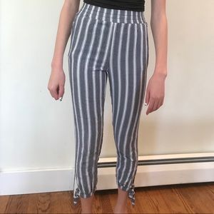 American Eagle Outfitters High Waisted Tie Pants